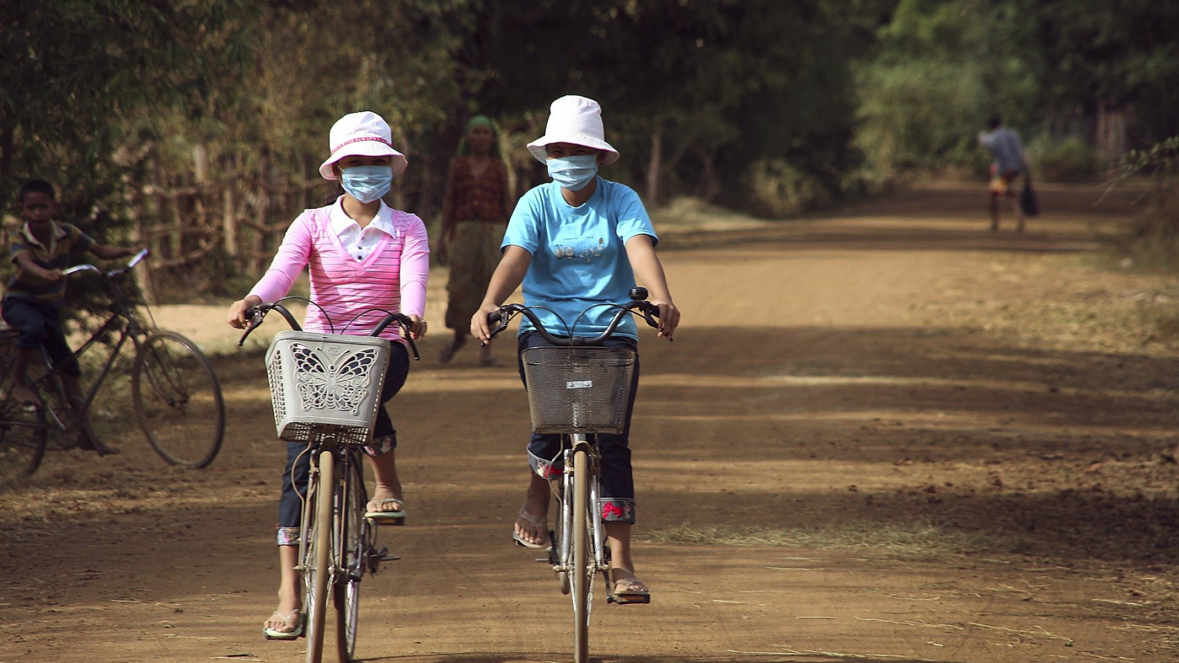 cycling in cambodia during corona virus