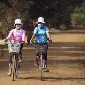 cycling in cambodia during corona virus