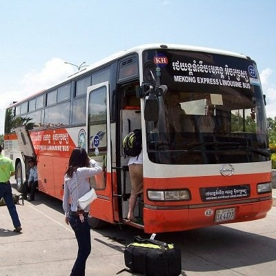 Cambodian Bus Travel