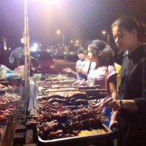 Cambodian street food