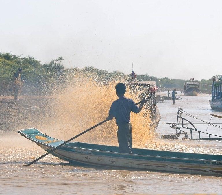 kompong phluk Cambodia