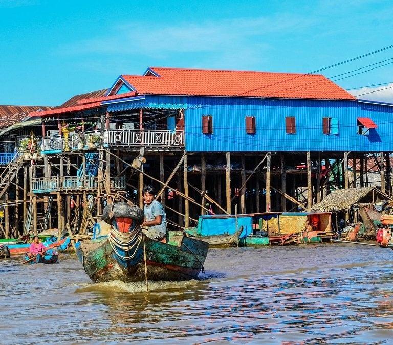kompong phluk village siem reap