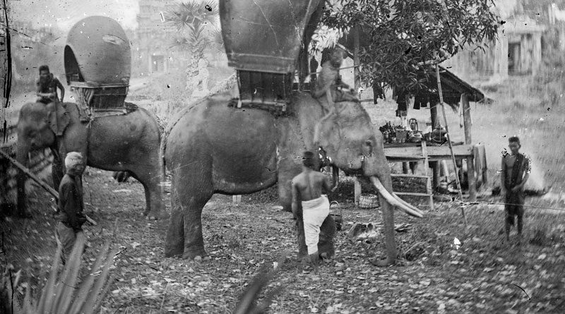 First Tourists Angkor Wat 1866