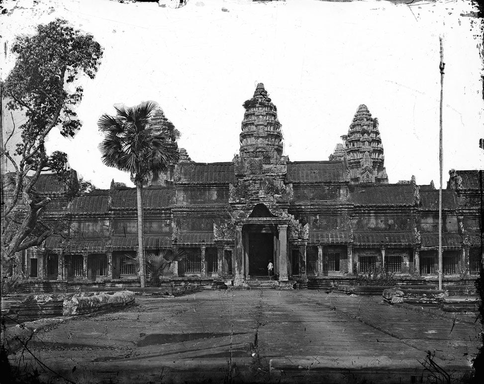 First photo of Angkor Wat, John Thompson