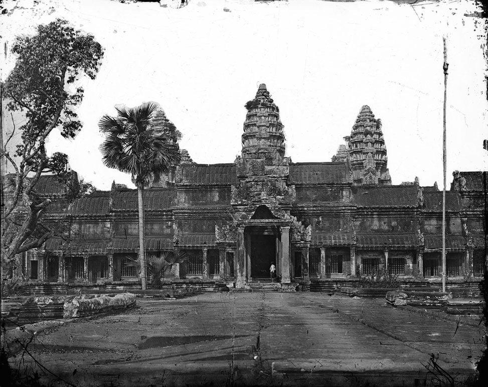 First photo of Angkor Wat, John Thompson