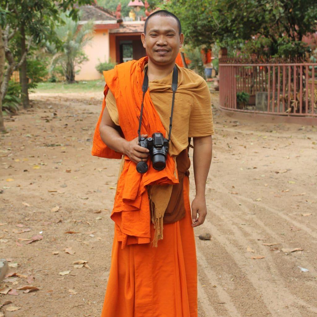 Friendly Monk Photography Teacher
