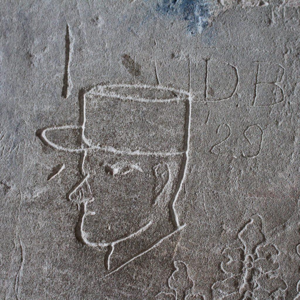 Kepi cap graffiti Angkor Wat