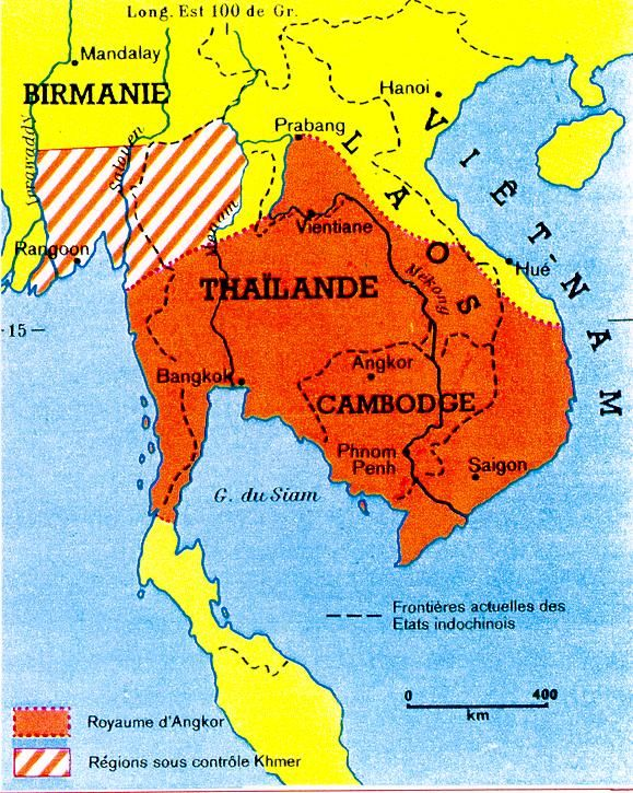 Khmer Empire Extent