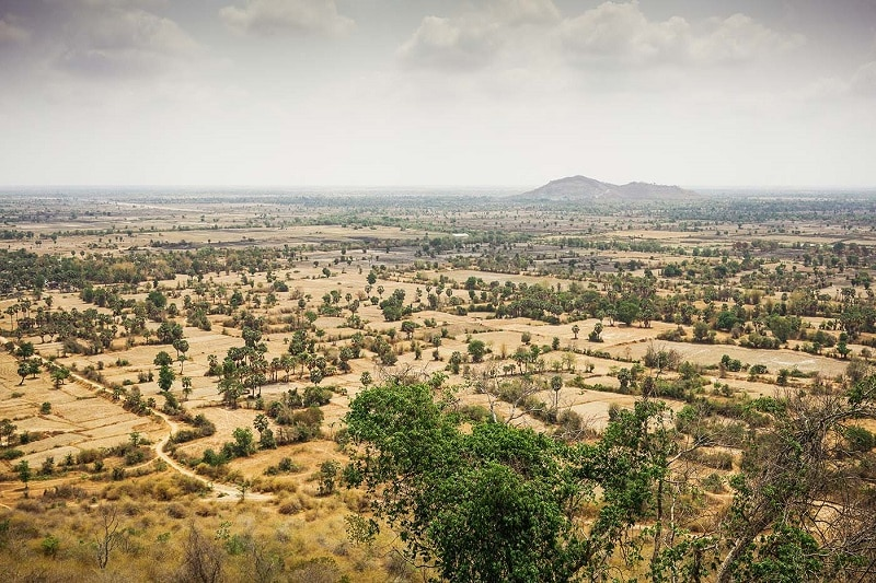 Phnom Chisor mountain cambodia