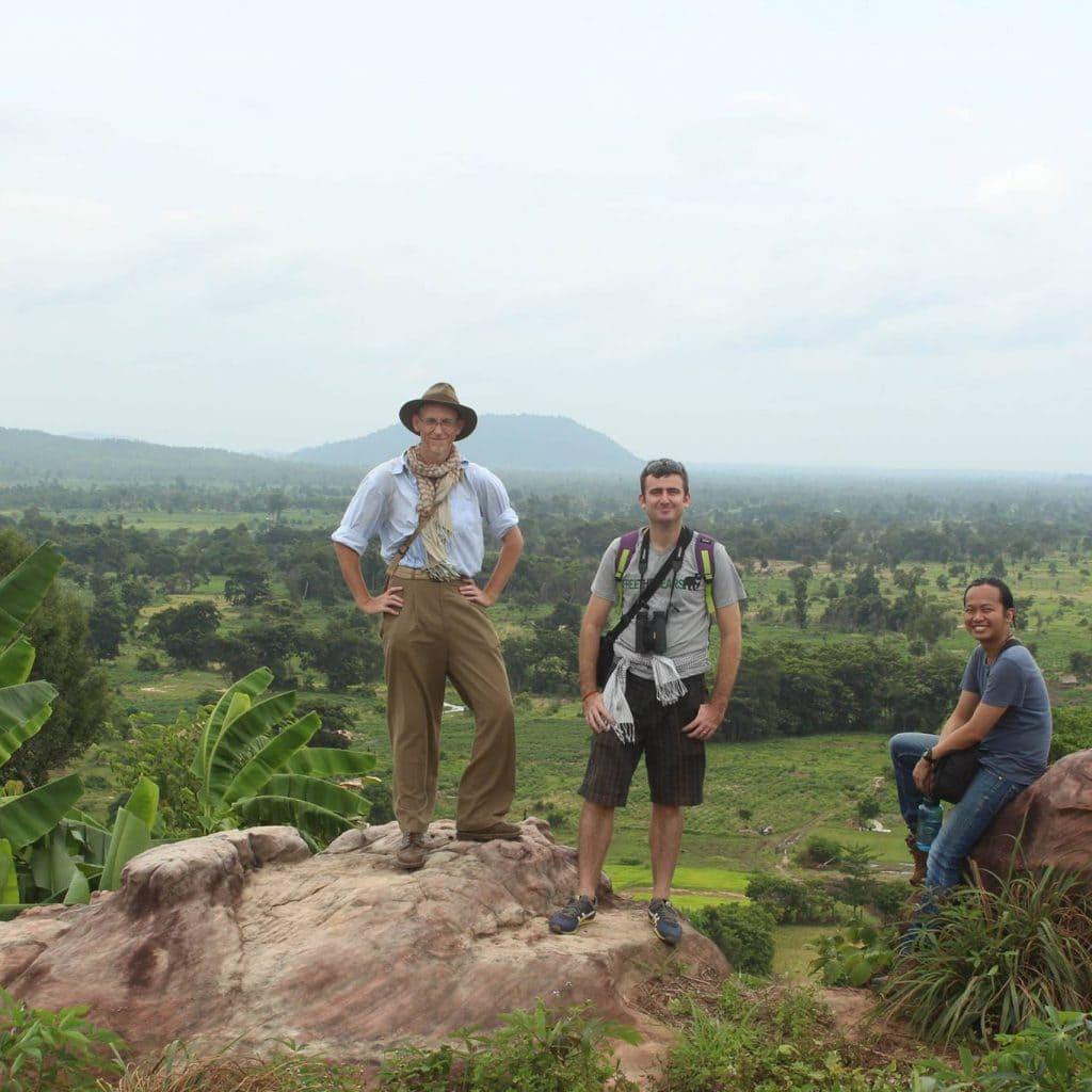 Shaun Mackay, David Brotherson, and Tse Siang Lim. Photo Rothsophal Nguon