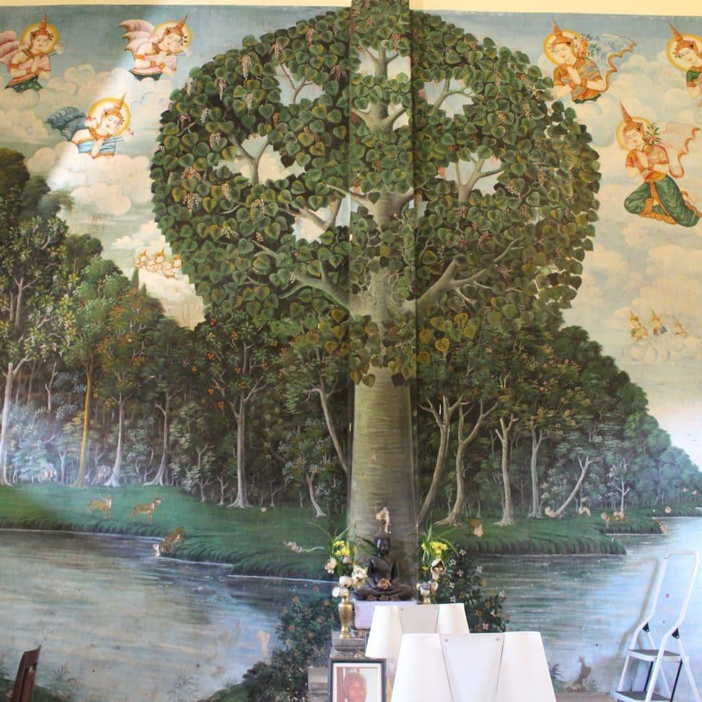 Wat Damnak Mural