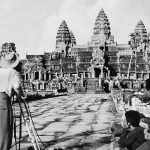 French Archaeologists surveying Angkor Wat c1930s