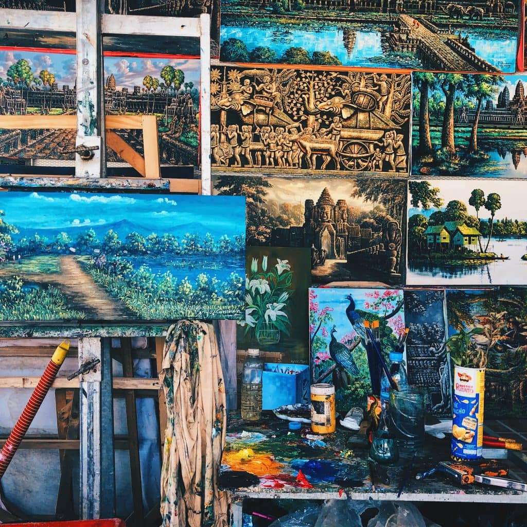 local cambodian artists