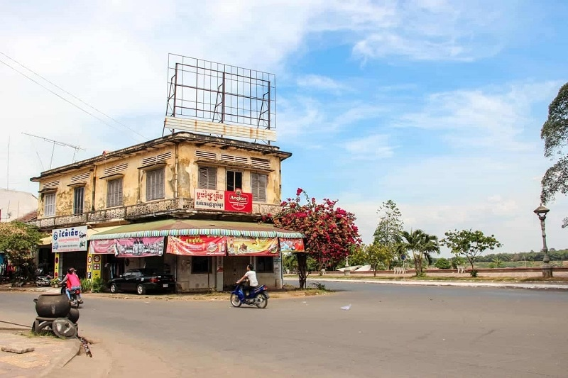 Kampong Cham is the real cambodia