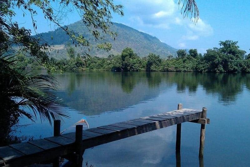 Kampot River in kampot province cambodia