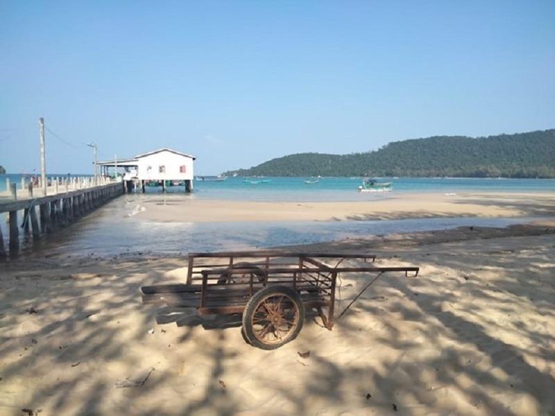 Koh Rong Samnoem off the coast of Cambodia