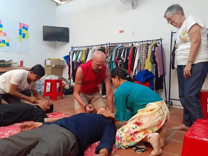 medical charity training in siem reap