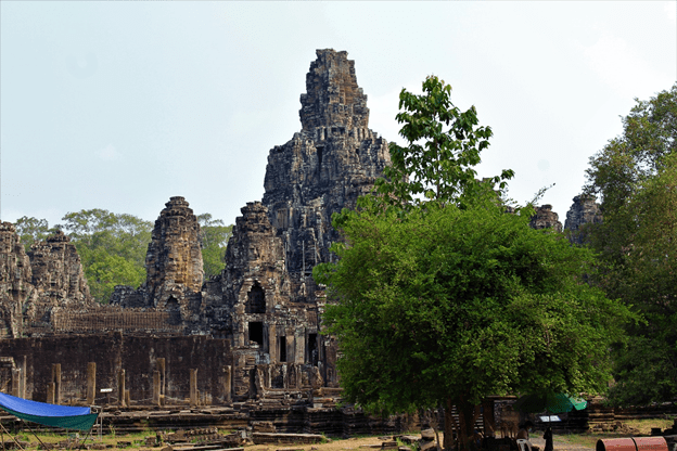 Bayon from the Southern Entrance